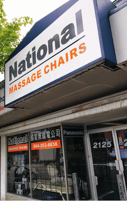 We are Western Canada's Largest Panasonic Massage Chair Retailer